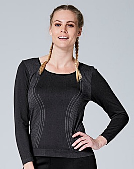 Seamless Running Top