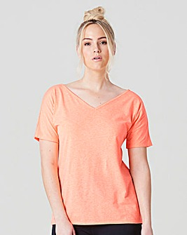 Cross Back Tee