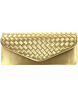 Weave Clutch Bag