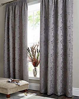 Knightsbridge Jacquard Lined Curtains