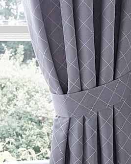 Trella Diamond Tie-Backs