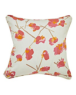 Tula Floral Square Filled Cushion