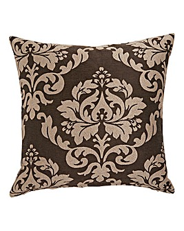 Hallam Damask Square Filled Cushion