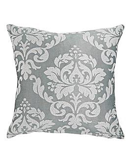 Hallam Damask Square Filled Cushion
