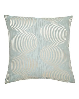 Astoria Jacquard Square Filled Cushion