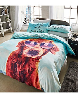 Its A Dogs Life Duvet Cover Set