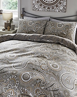 Topaz Printed Duvet Cover Set