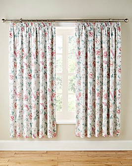 Jade Thermal Lined Pencil Pleat Curtains