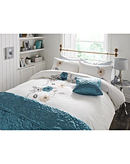 May Applique Duvet Cover Set