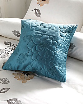 May Applique Square Filled Cushion