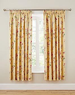 Springtime Posy Pencil Pleat Curtains