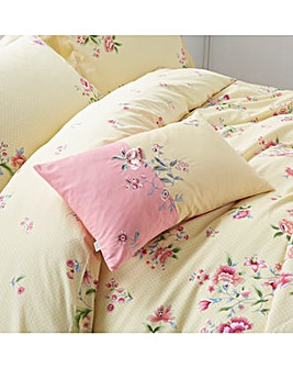 Springtime Posy Filled Boudoir Cushion