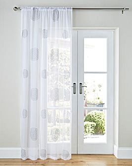 Orion Embroiderd Voile Panel