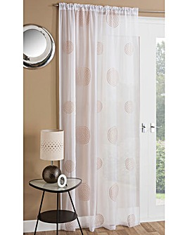 Orion Embroidered Voile Panel