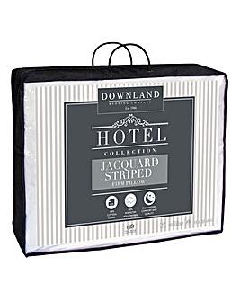 Hotel Cotton Stripe Firm Pillow
