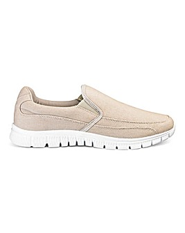 Cushion Walk Lightweight Canvas Slip On