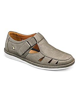 Cushion Walk Sandalised Shoes Wide Fit
