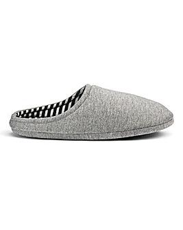 Jersey Mule Slippers