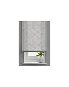 Semi Privacy Roller Blind - 4ft - White.