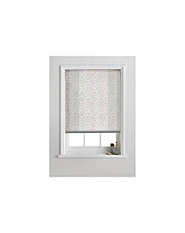 Semi Privacy Roller Blind - 3ft - White.