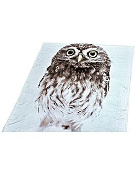 Cascade home Owl Throw