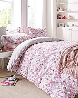 Sunny Pink Duvet Cover Set