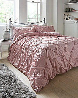 Elissa Blush Cotton Duvet Cover Set