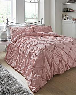 Elissa Blush Cotton Duvet Cover Set