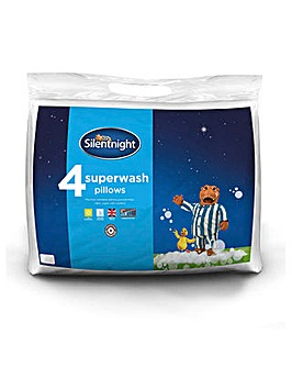 Silentnight Superwash Pillows - 4