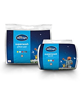 Silentnight Superwash 10.5 Tog Duvet Set
