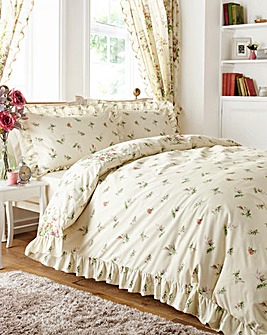 Vantona Madeleine Cream Duvet Cover Set