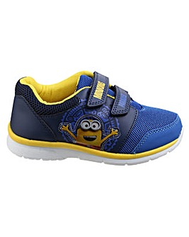 Boys Minion Touch Fastening Trainer