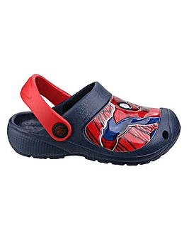 Boys Spider Man Slip-On Clog