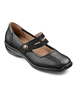 Hotter Karen Leather Touch Close Shoe