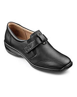 Hotter Francis Leather Touch Close Shoe