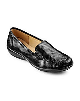 Hotter Jazz Leather Loafers