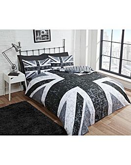 Cascade home Union Jack Duvet Set