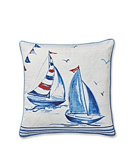 CL Sailing Boats Cushion