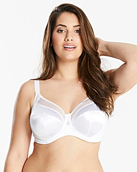 Goddess Keira Full Cup Wired White Bra