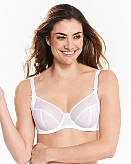 Freya Hero Full Cup Wired White Bra