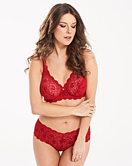 Triumph Amourette Full Cup Red Bra