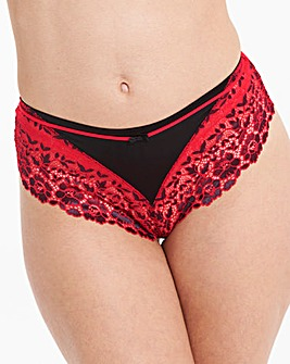 Pour Moi Fever Black/Red Shorts