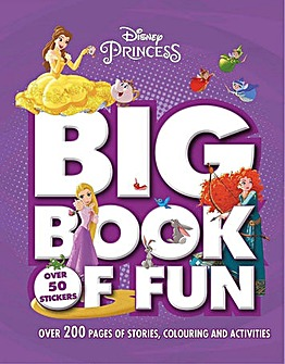 Disney Princess Big Book Of Fun