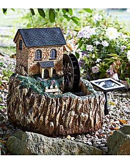 Smart Garden Solar Water Mill Fountain