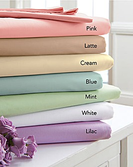 Egyptian Cotton Fitted Sheet Pack of 2