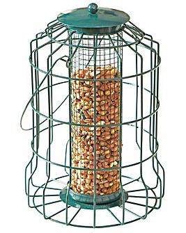 Caged Bird Feeders Set of 2