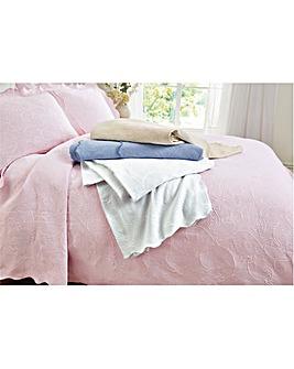 Knitted Matelasse Bedspread