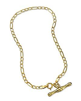 9ct Gold T-Bar Bracelet