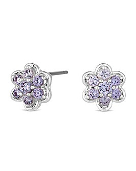 Jon Richard Flower Stud Earring