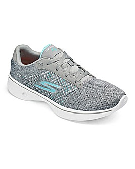 Skechers Go Walk 4 Lace Up Trainers